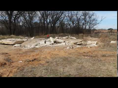 White Rock Area (Reclamation: Item 10, #2).  Jason Coalson Excavation. Hamilton Texas.