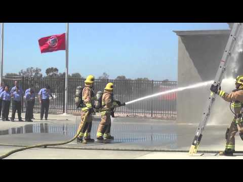 Grand Opening of the Fire Technology/EMT Training Center at Miramar College