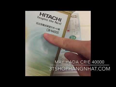 Máy Massage Hitachi Hada Crie N4000