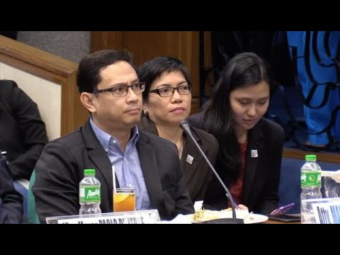 Mans Carpio  invokes bank secrecy law during Trillanes grilling