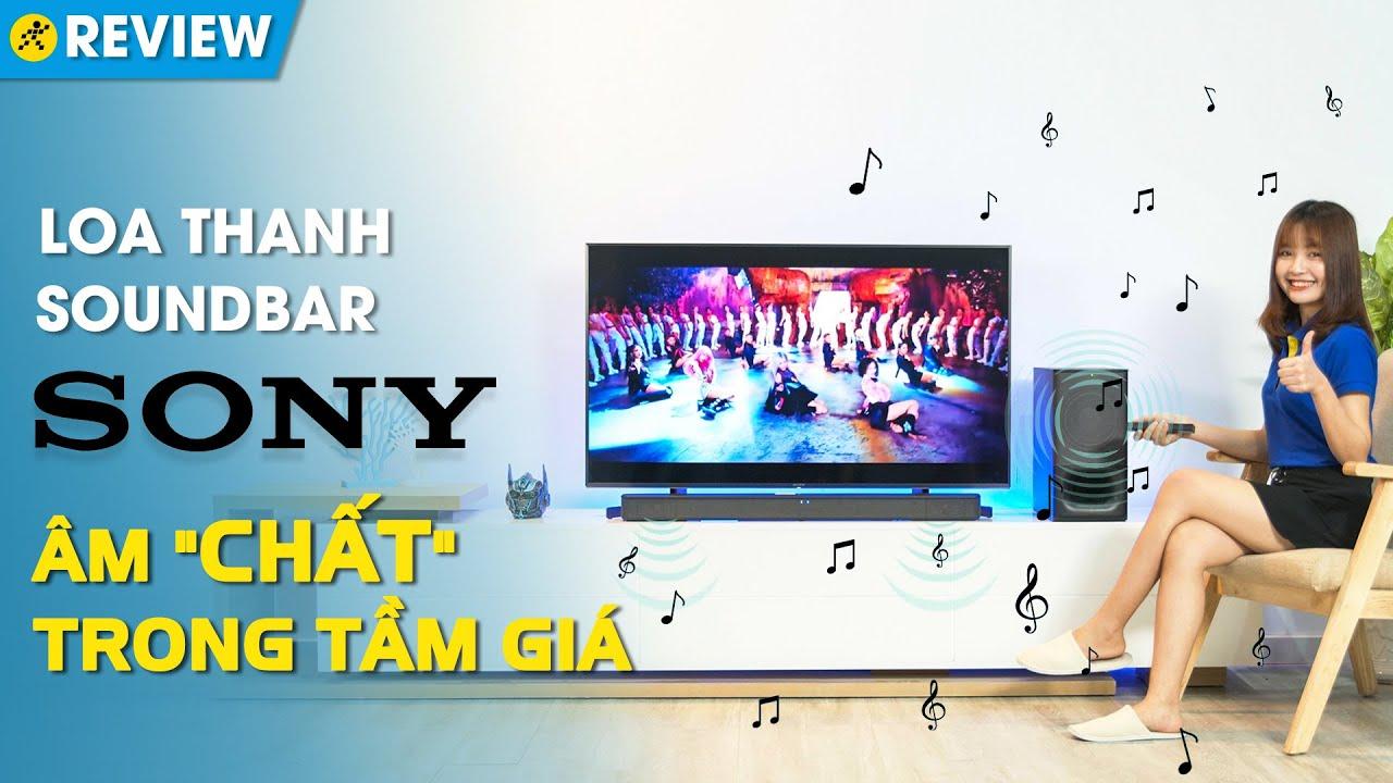 Loa thanh soundbar Sony 2.1: Âm chất trong tầm giá (HT-S350) • Điện máy  XANH - YouTube