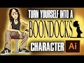 How To Make Yourself Into A Boondocks Character!- Step By Step / Tutorial ( ADOBE ILLUSTRATOR )
