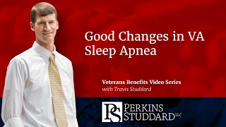 Good Changes in VA Sleep Apnea