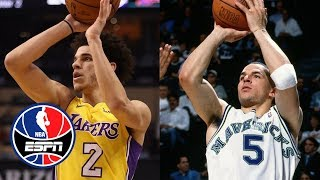 Video Lonzo Ball's early shooting issues remind Paul Pierce of Jason Kidd's   NBA Countdown   ESPN download MP3, 3GP, MP4, WEBM, AVI, FLV November 2017