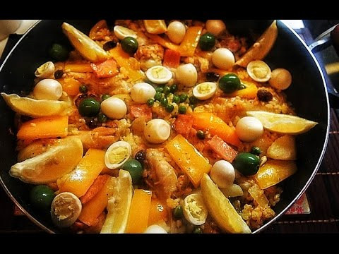 PINOY PAELLA       ( With Coconut MILk)