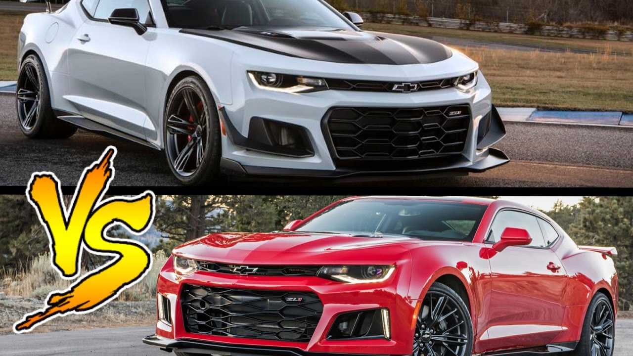 Camaro Zl1 1le Vs Camaro Zl1 A New King In Town Youtube