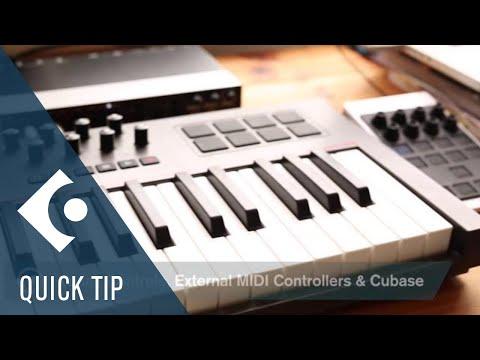 Cubase Quick Tips – Quick Controls & External MIDI Controllers