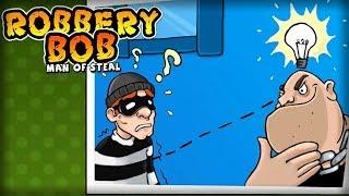 Robbery Bob™ - Level Eight AB Chapter 2 Level 3-4 Walkthrough
