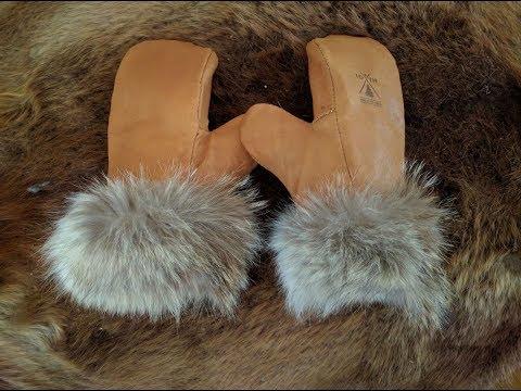 Making Winter Buckskin Mittens: Part 1/3