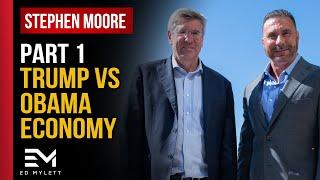 President Trump vs Obama: You Decide! | Stephen Moore