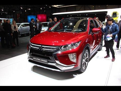 2018 Mitsubishi Eclipse Cross First Look - 2017 Geneva Motor Show
