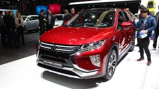 2018 Mitsubishi Eclipse Cross First Look 2017 Geneva Motor Show