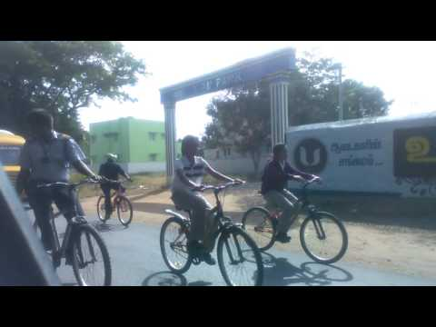 Indian Public School,Coimbatore - Cycling from Coimbatore to Thirumurthy Hills