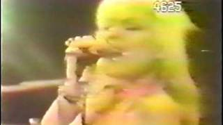 BLONDIE   X OFFENDER   JAPANESE TV 1977