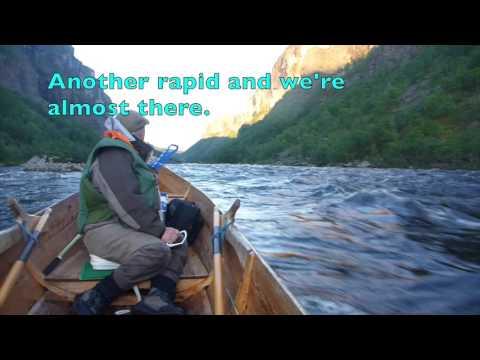 Ian Gordon : The Alta River Norway Steinfossen Pool