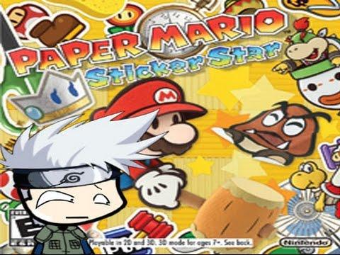Analisis Paper Mario 3Ds Sticker Star