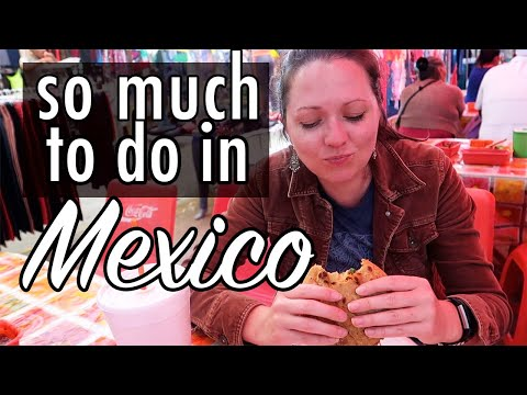 San Miguel de Allende: Library, Art, and the Tuesday Market (Gringo Family Living in Mexico Vlog)