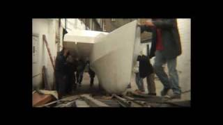 The Great Boat Move: Moving a large catamaran in kit form through the streets of London