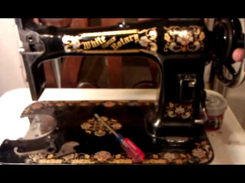 40 WHITE FAMILY ROTARY SEWING MACHINE REBUILD YouTube Magnificent 1913 White Rotary Sewing Machine