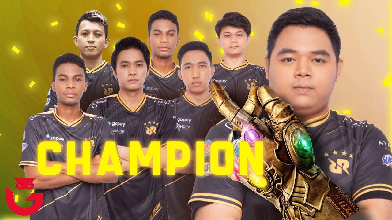 Perjalanan RRQ Juara Sempurna di MPLI Tanpa Kekalahan!!!
