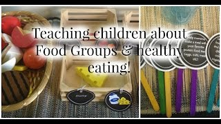 Teaching children the concept of healthy eating can get tricky! so i created this fun unit for my son and his friends to teach them about different food grou...