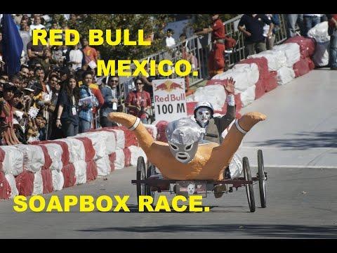 CONOCE LOS AUTOS DEL RED BULL SOAPBOX RACE MEXICO. galerias atizapan.