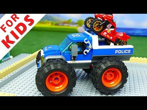 Lego Experemental Cars  and Lego  Trucks