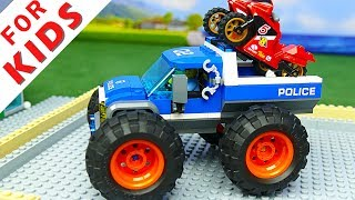Lego Experemental Cars  and Lego  Trucks