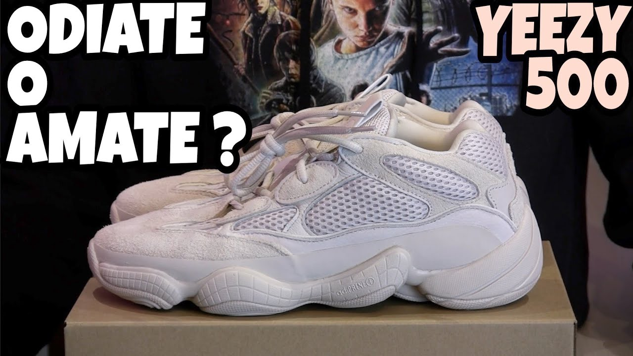 Adidas YEEZY 500 Blush - LA ODIATE O LA AMATE  Unboxing   Recensione Review  ITA 08573840f