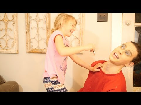 MY SISTER DOES MY MAKEUP! thumbnail