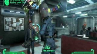 Fallout 3 - Drunk Overseer Dancing at your Birthday Party