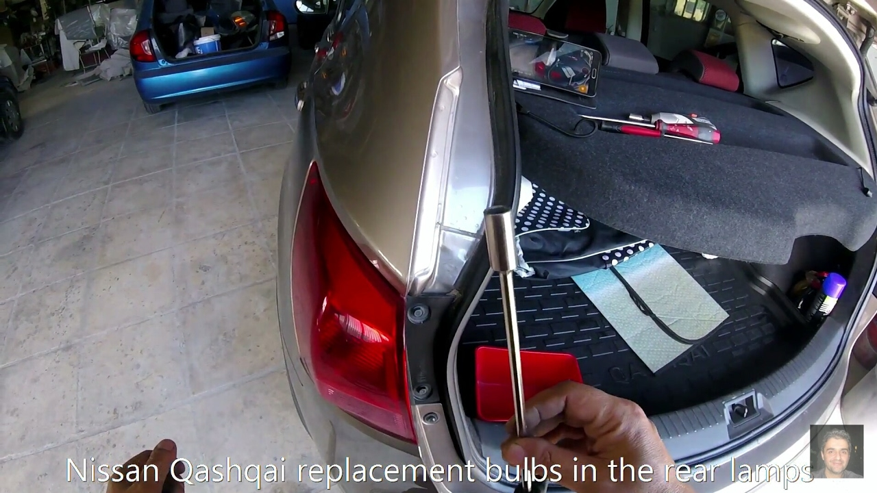 Nissan Qashqai How To Replace Rear Tai Light