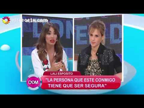 Lali Espósito: La persona que esté conmigo tiene que ser segura