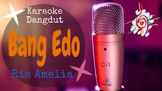 Download Karaoke BAng Edo - Ria Amelia (Karaoke Dangdut Lirik Tanpa Vocal)