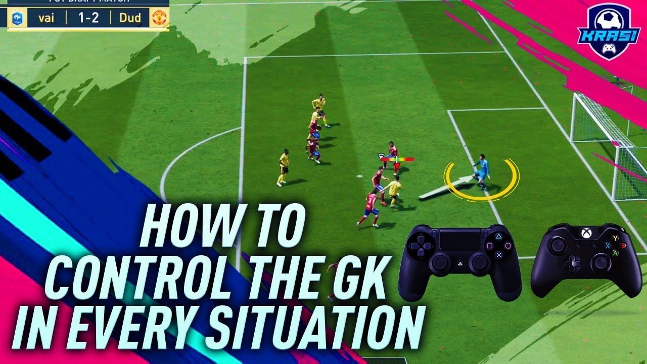 FIFA 19 HOW TO MOVE & CONTROL THE GOALKEEPER AT FREE KICKS, CROSSES, CORNER  KICKS, 1 VS 1 - TUTORIAL