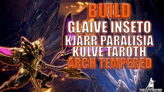 Monster Hunter World - BUILD GLAIVE INSETO KJÁRR PARALISIA!
