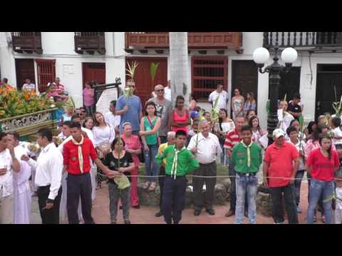 Domingo de Ramos - Semana Santa 2017 en Santa Fe de Antioquia
