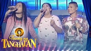 "Tawag ng Tanghalan: Christofer, Andrey and Phoebe sing ""I'll Be There"""