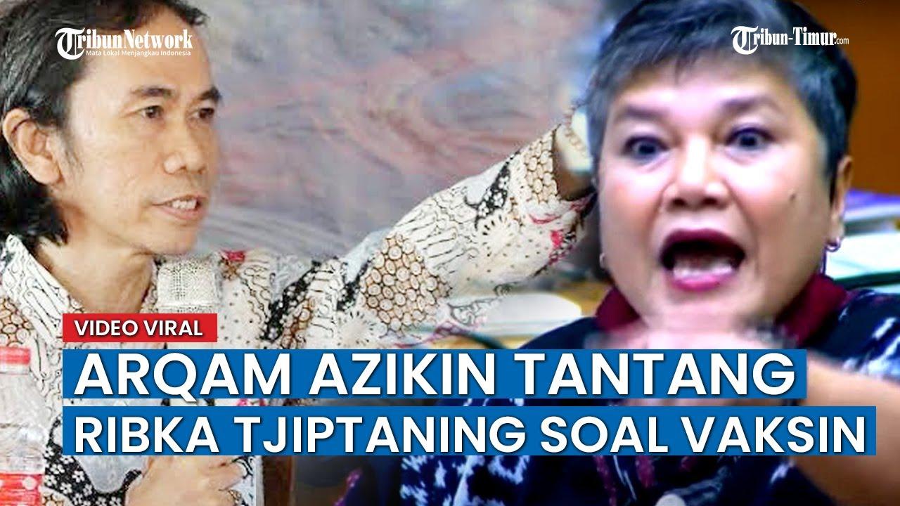 Download Dosen Unismuh Makassar Arqam Azikin Tantang Anggota Fraksi PDIP Ribka Tjiptaning yang Tolak Vaksin
