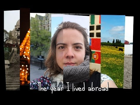 Living abroad for the first time (1 year and 3 months in 946 pictures) - Timelapse
