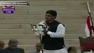 Shri Gopinath Rao Munde sworn-in as Cabinet Minister in new Government