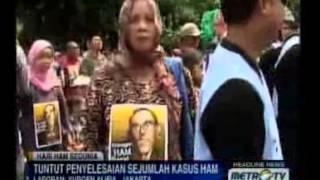 Massa: Lumpur Lapindo Langgar HAM