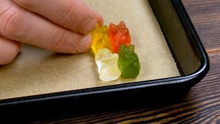 Download Put 4 Gummy Bears In The Corner Of The Sheet Pan. After 2 Minutes, Wow! Mp3 and Videos