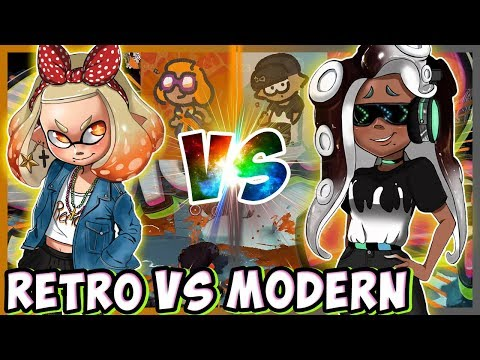 ABM: Retro Vs Modern  !! Splatoon 2 Splatfest Gameplay !! HD