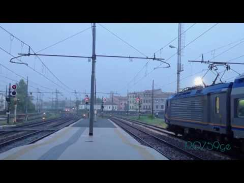 Treviso April 2017 railway station rail times