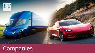 Tesla unveils new vehicles