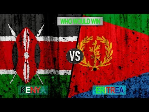 KENYA VS ERITREA  -   Military Power Comparsion 2018