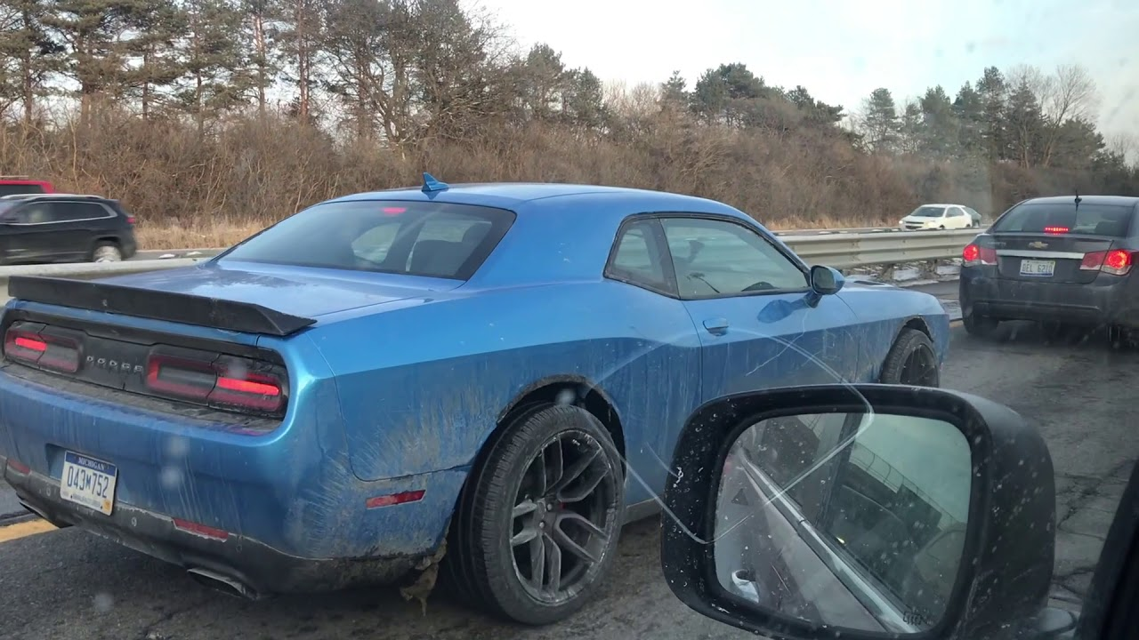 Could It Be A 2020 Dodge Widebody Hellcat Srt Prototype Youtube