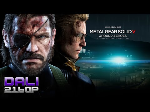 Metal Gear Solid V Ground Zeroes PC 4K Gameplay 2160p