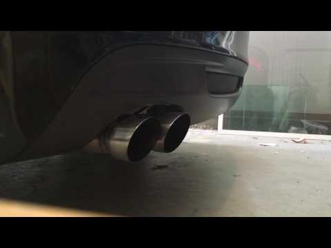 2011 BMW 135i (N55) and Catted Wagner Down pipe, PE Mid pipe